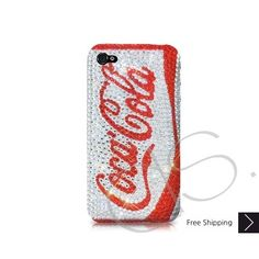 Coca Cola Red Bling Swarovski Crystal iPhone 5 Case