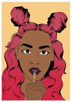 A commission I did recently for Jazmine (beyondjaz). ↠ ᴘɪɴᴛᴇʀᴇsᴛ: @uniquenaja ↞
