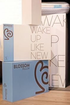 #blossom  #pillow  #mattress  #bedinabox Pillow Mattress, Wake Up, Open House, Pillows, Cushion, Cushions, Throw Pillows