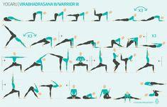 A step by step guide to help you master this super tricky yoga pose - Warrior III Yoga Pilates, Bikram Yoga, Iyengar Yoga, Pilates Reformer, Vinyasa Yoga, Kundalini Yoga, Yoga Sequences, Yoga Poses, Yoga Routine