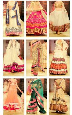 Manish Malhotra designs # color palattes