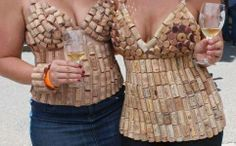 wine cork halter top | Will You Just Cork It!!! 2014 Fashion Trends Revealed and Reviled