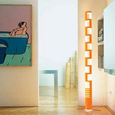 Kundalini - Lampada Sama | Design: Gregorio Spini | Materiali: Plexiglas | #design #orange #lamp | http://illuminazione.webmobili.it/