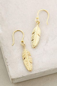 Darling feather earrings
