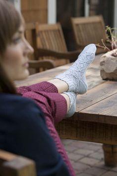 Snowflower Socks - Knitting Daily