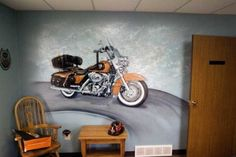 The Best Harley Davidson Wall Murals Design