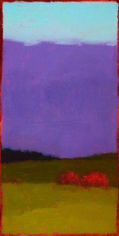 Mark Rothko White Cloud over Purple Poster Kunstdruck Bild 40x40cm
