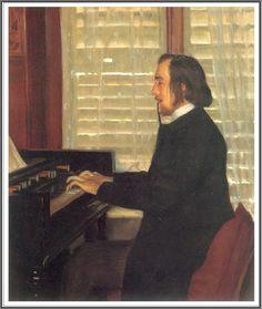 Le Prince Lointain: Santiago Rusiñol i Prats (1861-1931), Eric Satie à L'Harmonium - 1891.