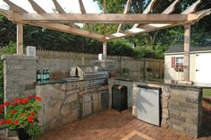 dream, outdoor kitchens, kitchen islands