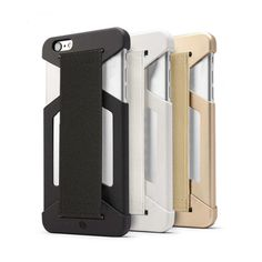The Drop Prevention Phone Case greatly improves the hand held control users have over their phones. The integrated strap is comfortable, and can be used while running, taking photos and more. The case also features a shock-absorbent polycarbonate end cap to protect your phone.