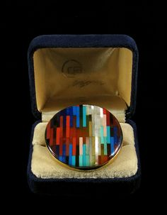 Yaacov Agam, Rainbow Ring (Jewelry), Precious Stones on 14 Karat Gold, Jewelry..one of a kind, never produced..