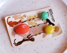 Vintage hair pins. How cute are these?