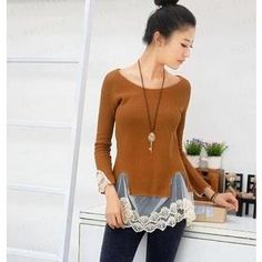 Buy '59 Seconds – Tulle Hem Knit Top' with Free International Shipping at YesStyle.com. Browse and shop for thousands of Asian fashion items from Hong Kong and more!