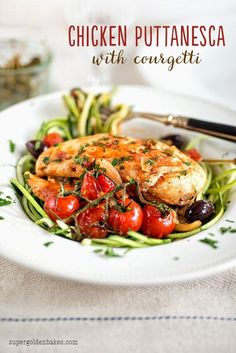 I am so in love with this recipefor low-carb ChickenallaPuttanesca. It ticks all the boxes for me – wonderfully tasty, easy to make, beautiful to look at and healthy to boot. Puttanesca sauce is usually served with spaghetti of course and it is simply amazing with pasta but since I am not currently eating pasta...Read More »