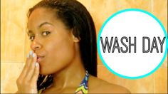 Relaxed Hair: Transitioning Hair Wash Day - http://community.blackhairinformation.com/video-gallery/relaxed-hair-videos/relaxed-hair-transitioning-hair-wash-day/