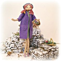 Artisan dolls inspired by Provence | by Verity Hope www.VerityHope.com
