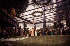 Cerimônia no estilo rústico-chique - Casamento Lissa Fedrizzi e Thiago Cruz