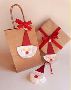 laclassedellamaestravalentina Christmas Crafts For Kids, Christmas Items, Christmas Wrapping, Winter Christmas, Kids Crafts, Christmas Cards, Christmas Jingles, Santa Gifts, Merry Xmas