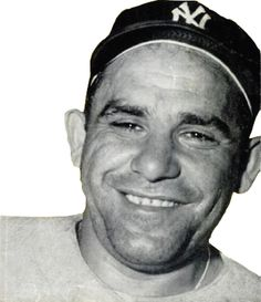 American Major League Baseball catcher, outfielder, and manager. He played almost his entire baseball career for the New York Yankees. Famous Baseball Players, Sports Baseball, Baseball Cards, Yogi Isms, Yogi Berra Quotes, Wordpress, Yankee Stadium, The Outfield, World Series