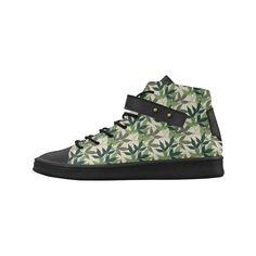 Botanical, nature, foliage, leaf, green Lory High Top Men