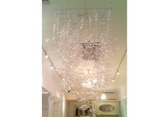 Glass Bubble Chandelier   DIY Projects   100 Layer Cake
