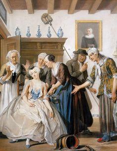 . Jan Claasz, of de gewaande dienstmaagd.  Cornelis troost