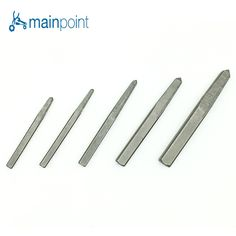 7.29$  Watch now - http://alibgb.shopchina.info/go.php?t=32799415447 - Mainpoint 5Pcs/Set Tapered Extractor Set Extractor Removal Tool Damaged Bolt Screw Drill Screwdriver Set for Electric tool  #SHOPPING
