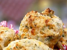 Gina's Cheddar and Herb Biscuits Recipe : Patrick and Gina Neely : Food Network - FoodNetwork.com