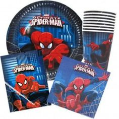 Spiderman Party PackOne Stop Kids Party Shop