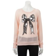 Disney Graphic Print Sweater-Knit Top - Juniors