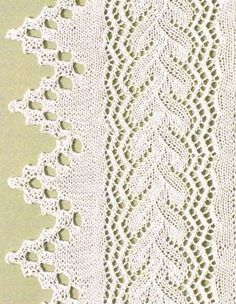 Knitting: with chart; there are more beautiful knitting patterns on this site - Stricken, mit Diagramm