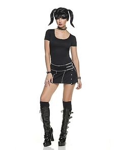 NCIS Abby Goth Adult Womens Costume - Spirithalloween.com