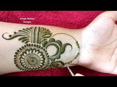 Latest Simple and Stylish Mehndi Design for Front Hand Mehndi Designs Front Hand, Peacock Mehndi Designs, Stylish Mehndi Designs, Dulhan Mehndi Designs, Mehndi Designs For Fingers, Mehndi Design Images, Arabic Mehndi Designs, Henna Mehndi, Mehendi