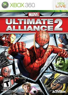 Marvel Ultimate Alliance 2 - - The Largest Army of Super Heroes is Back! The highly anticipated sequel to Marvel:Ultimate Alliance—heralded as the best Marvel Super Hero game of Marvel Ultimate Alliance, Avengers Alliance, Marvel Avengers, Marvel Super Heroes Game, Super Hero Games, Marvel Games, Marvel Movies, Marvel Characters, Xbox One