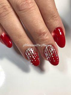 38 Fantastiche Immagini Su Unghie Gel Natale Pretty Nails