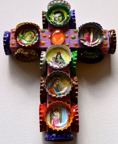 Wholesale Kitsch Mexican Cross - Mexico Import Arts
