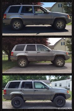 Transformation of the Jeep ZJ Jeep Zj, Jeep Baby, Jeep Grand Cherokee Laredo, Cool Jeeps, Cars And Motorcycles, Dream Cars, 4x4, Trucks, Off Road Racing
