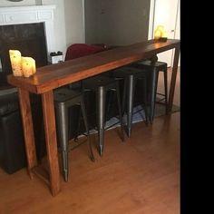 Rustic Sofa, Wood Bar Stools, Wood Table, Sofa Tables, Bar Tables, Console Tables, Wood Display, Large Sofa, American Walnut