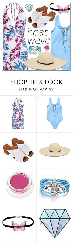 """""""Untitled #3139"""" by mada-malureanu ❤ liked on Polyvore featuring rms beauty and Unicorn Lashes"""