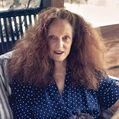 Grace Coddington shares her beauty tips: I like #frizzy #hair   @telegraphlife