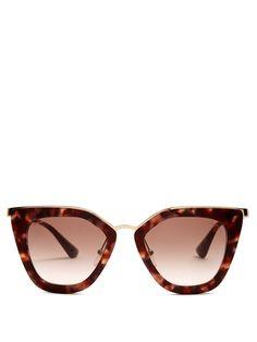 9e3bf0bc6535e Cat-eye acetate sunglasses