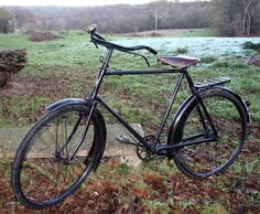 1918 BSA All-Weather Bicycle