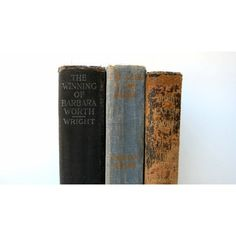 Tattered Vintage Books Book Decor Wedding Decorating Home Decor... ($21) ❤ liked on Polyvore featuring home and home decor
