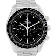Omega Speedmaster 861 Steel Mens Moon Watch 3590.50.00 Year 1995
