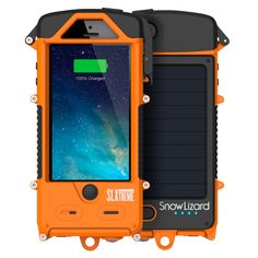 Waterproof iPhone 5/5s SLXtreme Rugged Battery Case – Snow Lizard Products