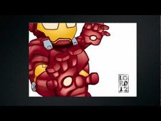 Lil Ironman speed vector drawing using Manga Studio by Lord Mesa