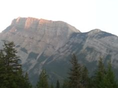 Tunnel Mt. in Banff