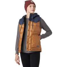Patagonia Bivy Hooded Down Vest - Women's   Backcountry.com Work Attire Women, Fall Outfits, Fashion Outfits, Camping Style, Down Vest, Patagonia, Autumn Winter Fashion, Hoods, Winter Jackets