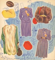 VINTGE UNCUT 1946 STATUETTE PAPER DOLL ~LASER REPRODUCTION~LO PR~HI QU FREE S&H | eBay