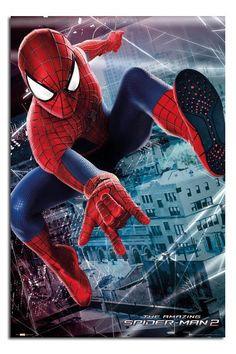 The Amazing Spiderman 2 Websling Poster